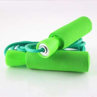 🚚 Adjustable Aerobic Exercise Skipping Jump Rope (Green)