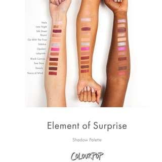Colourpop Element Of Surprise Authentic