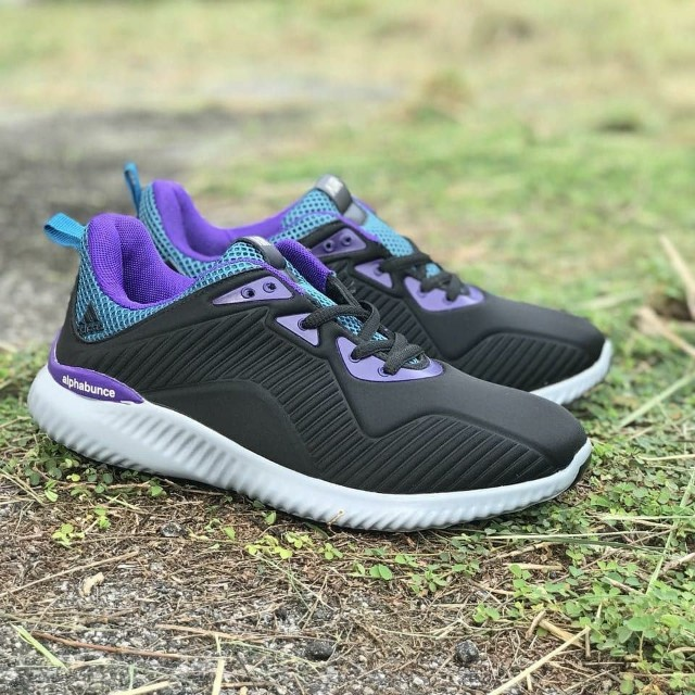 Adidas Alphabounce Black Purple e32da86e5