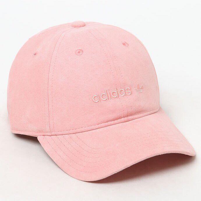 Adidas Originals Pink Baseball Cap 4f22dab94014