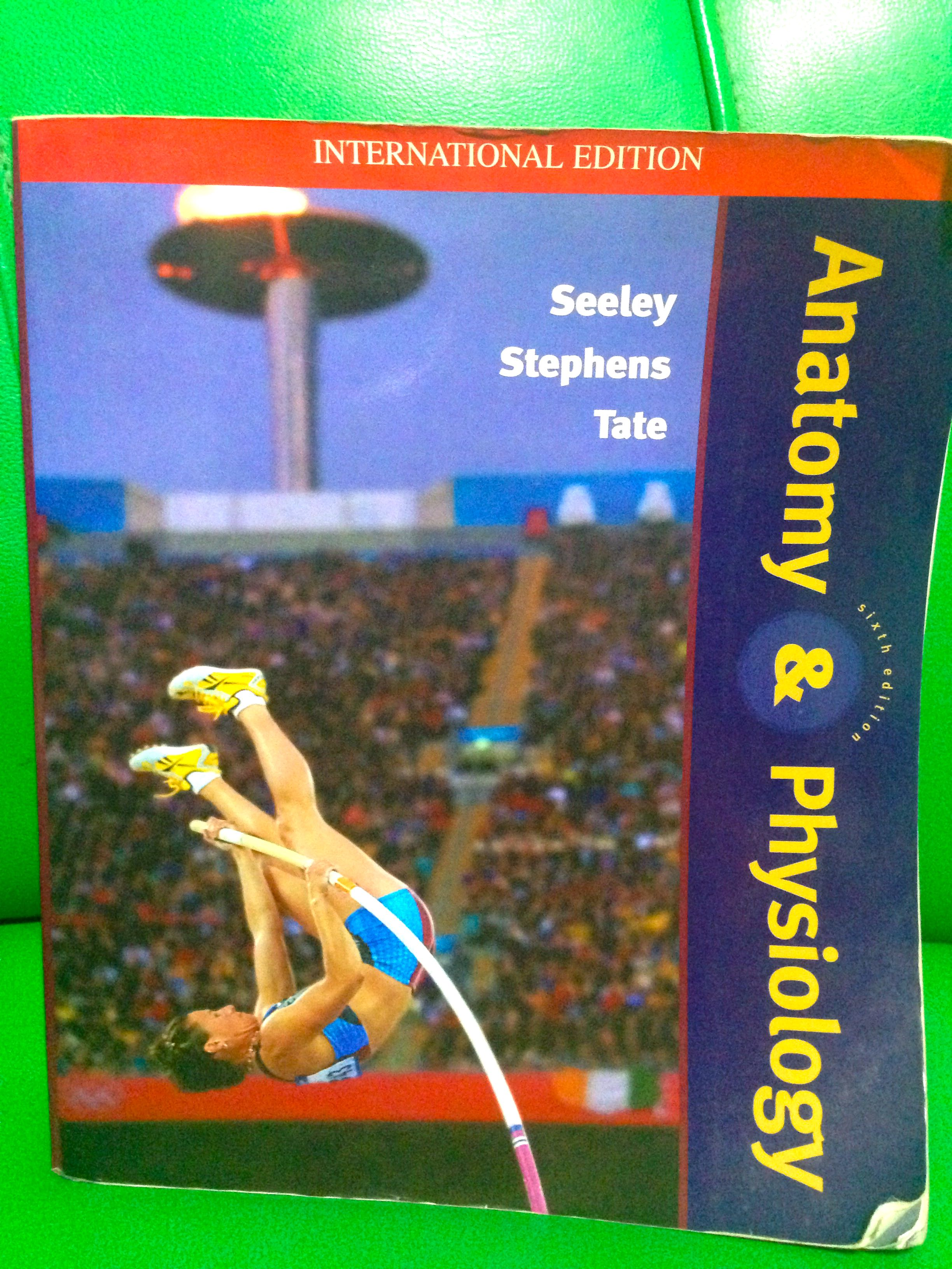 Excepcional Anatomy And Physiology Seeley Stephens Tate 7th Edition ...