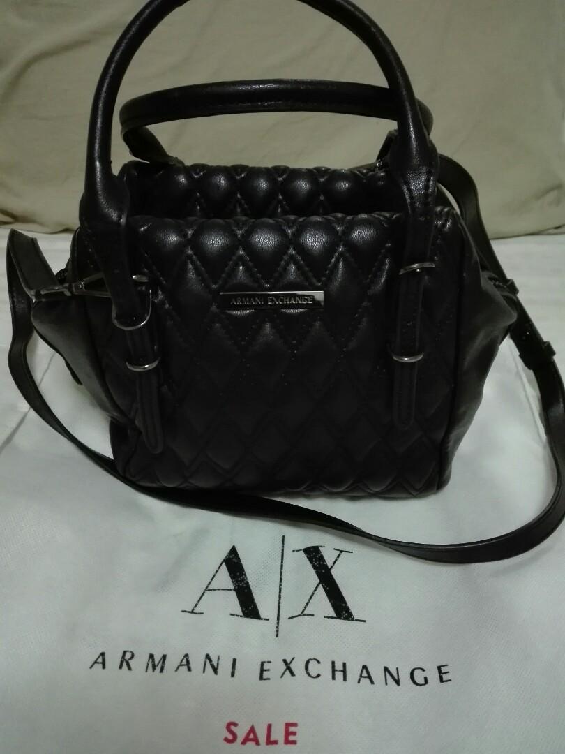 Authentic Armani Exchange handbag (used) 8c984c5398c88