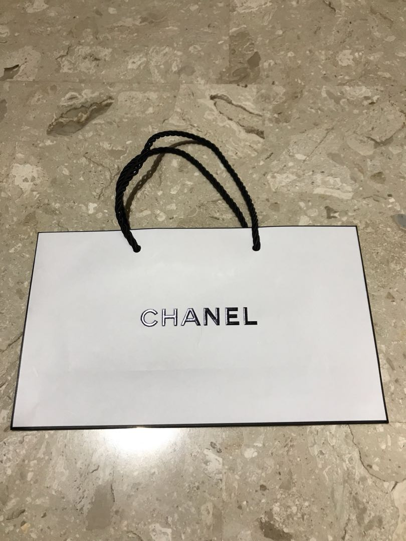 da972827e33d Authentic Brand New Chanel Small Paperbag, Luxury, Bags & Wallets ...