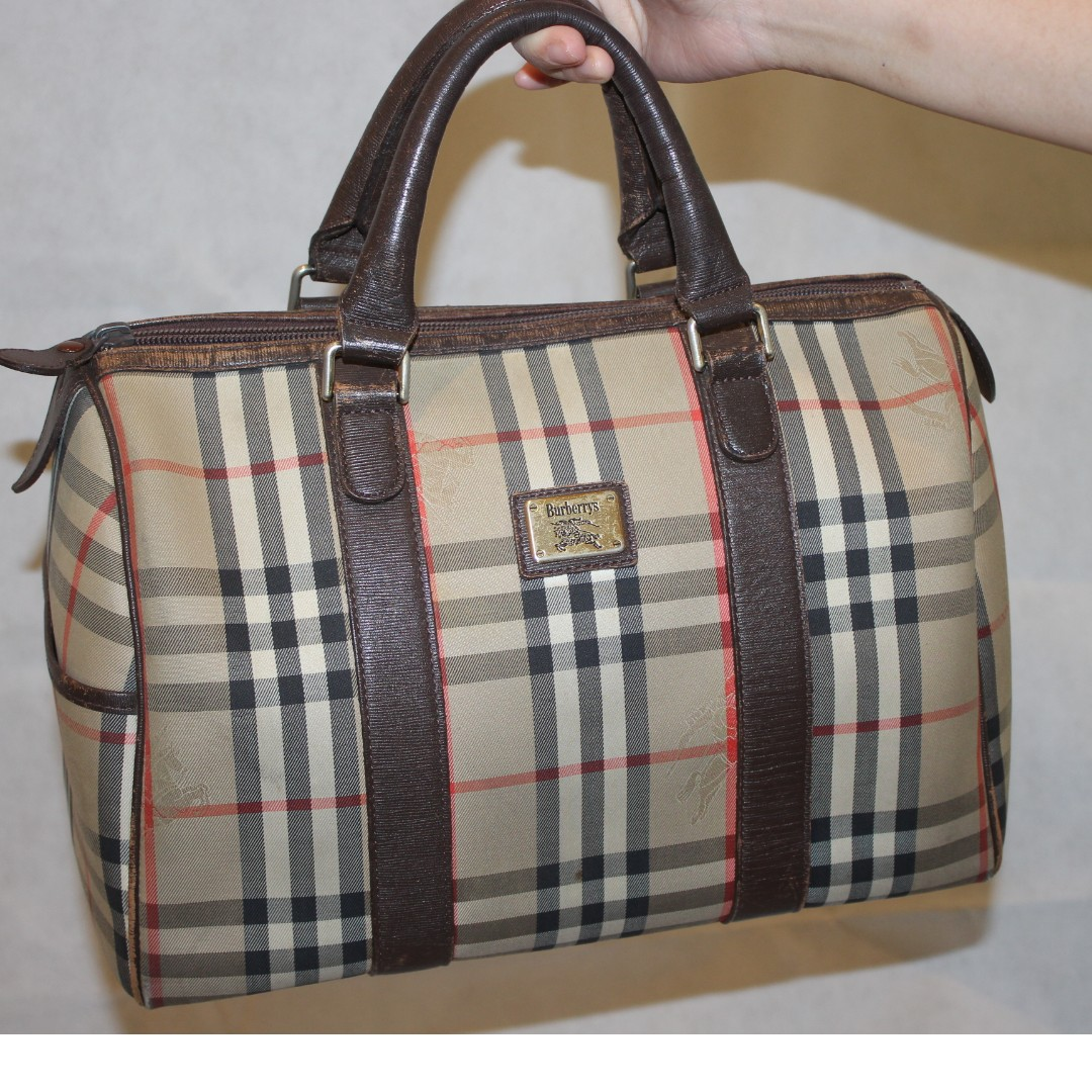 Authentic Burberry Speedy