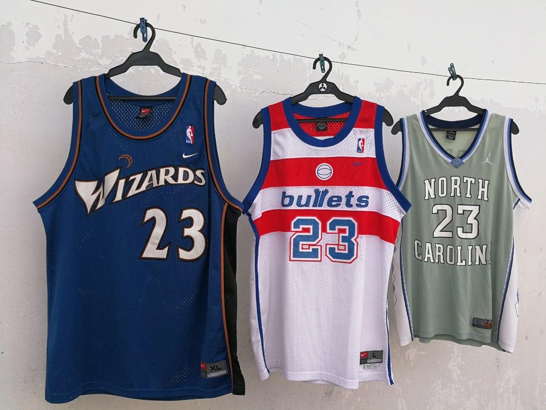 pretty nice 25bd4 6d00f Authentic Nike Swingman NBA jersey Wizards Bulls Jordan NC ...