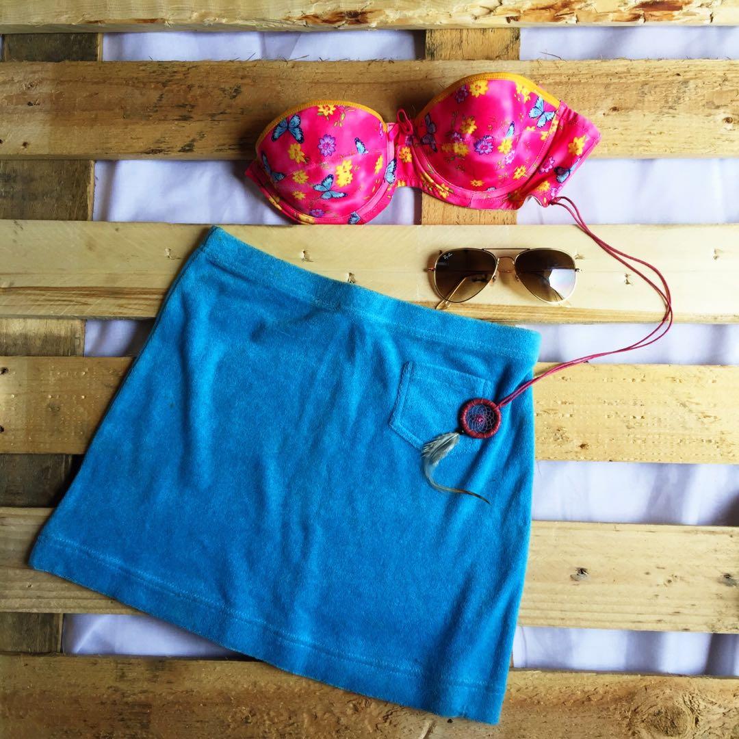 f3dca0a634 BEACH TOWEL SKIRT SUMMER SWIMWEAR, Women's Fashion, Clothes, Dresses ...