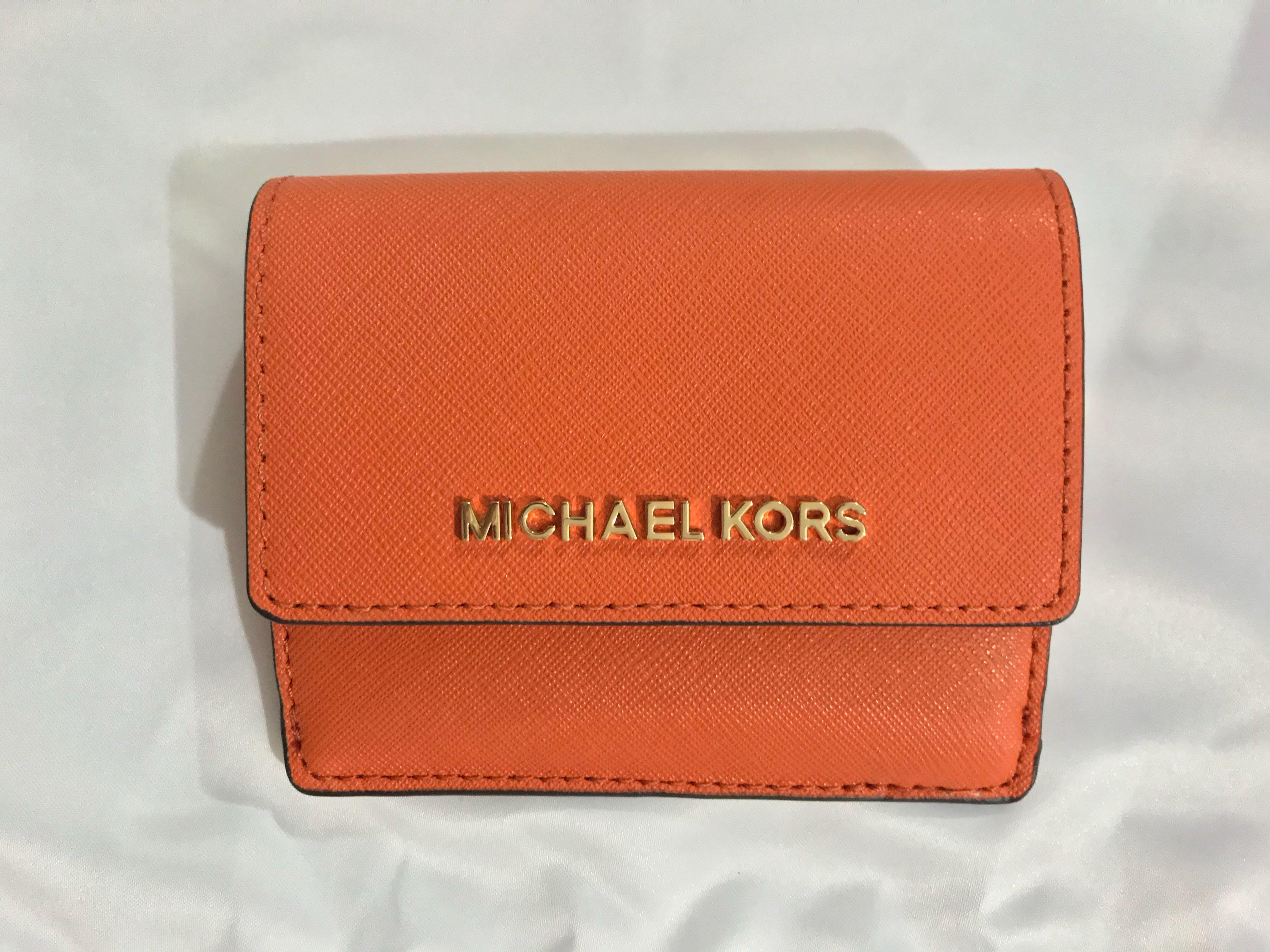 76064a1e07e5 BN Michael Kors Jet Set travel card case / key holder / key pouch in ...