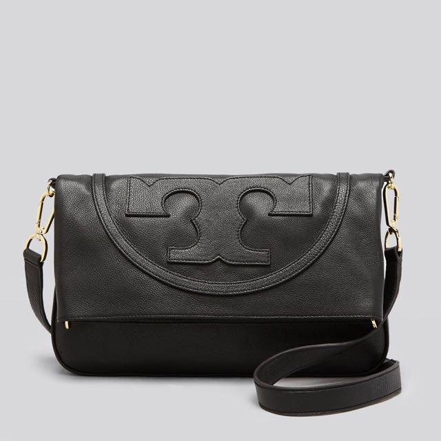 12c4a60f6f22 BRAND NEW AUTHENTIC TORY BURCH All T Suki Foldover Messenger ...