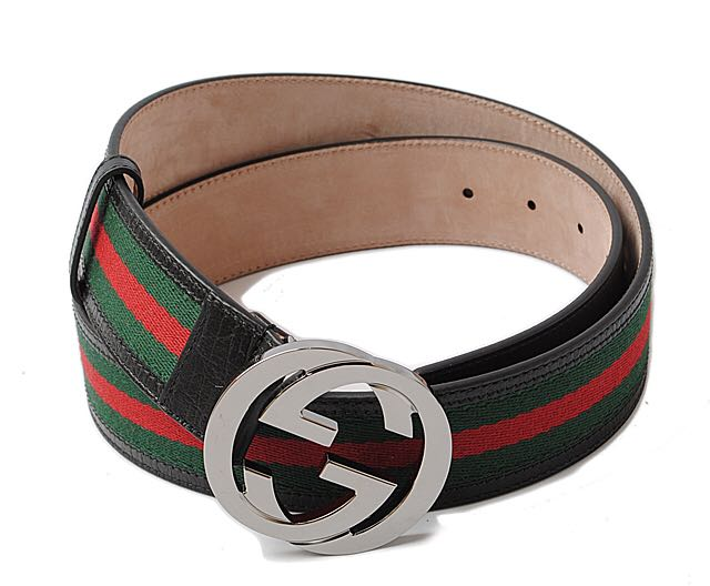 329002f26d3 Brand New  Gucci belt Sherry line green   red black 114984
