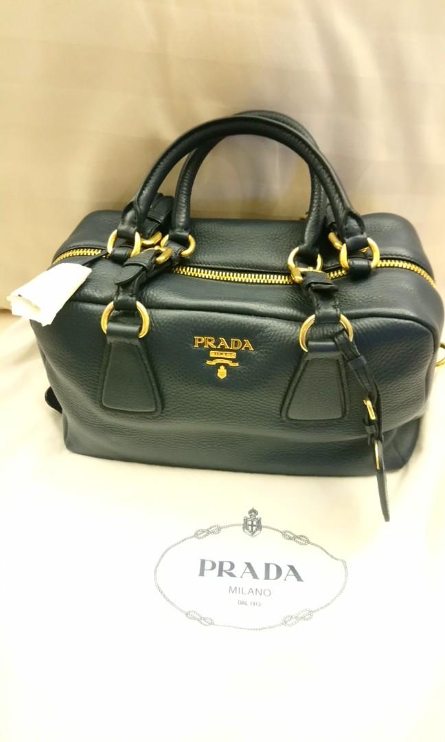 51cda81fa76f Brand new Prada calf leather handbag, unused., Luxury, Bags ...