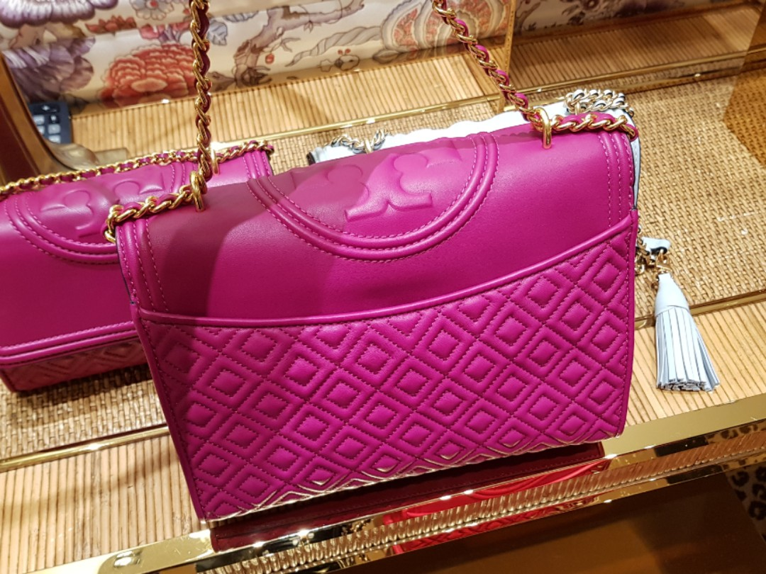 7a9003bc9129 599 ONLY. Authentic Tory Burch Fleming Convertible Shoulder Bag ...