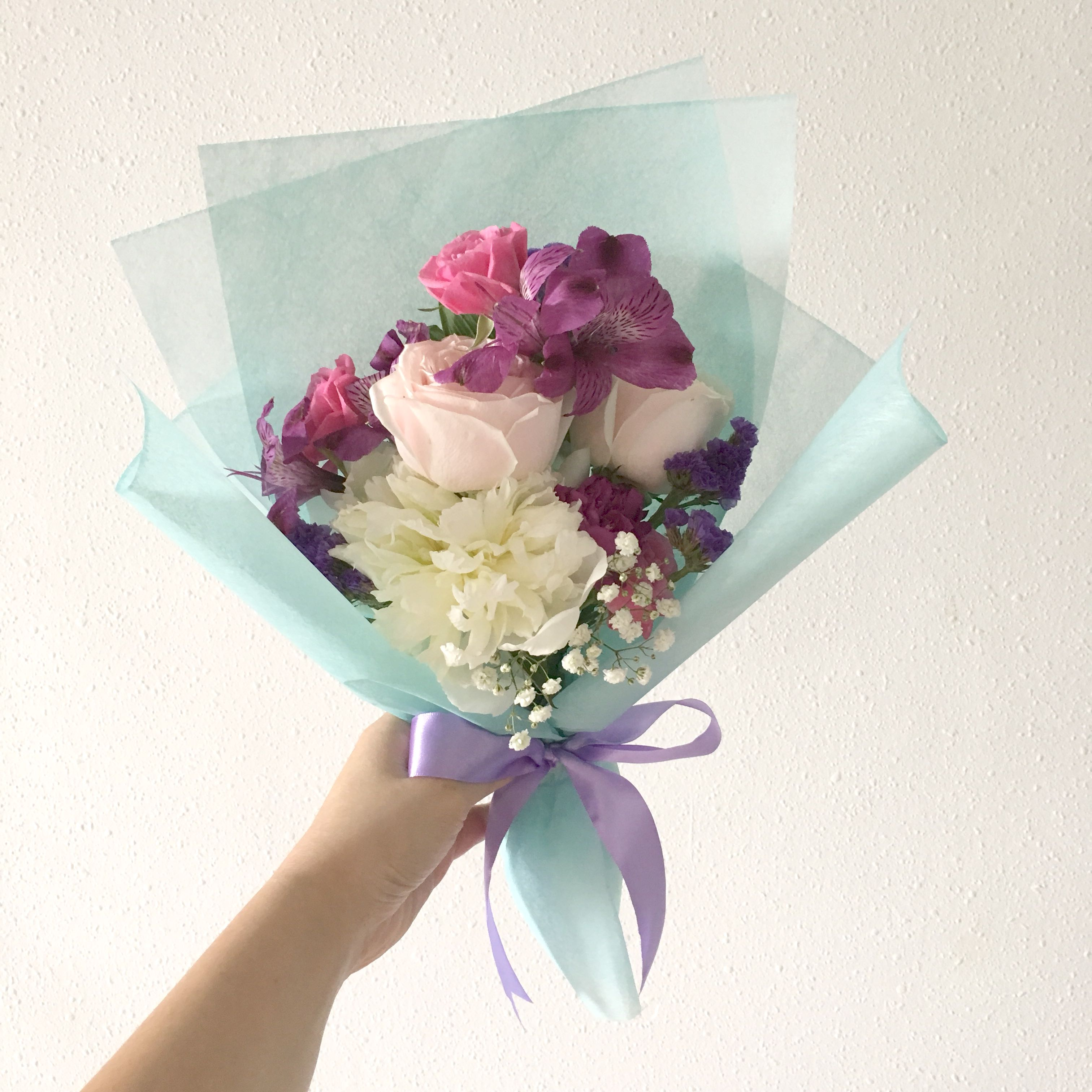 Fresh flower bouquet mix flowers, Gardening, Flowers & Bouquets on ...
