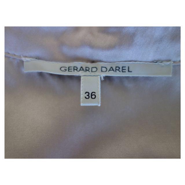 Gerald Darel Gold Shirt (Silk Blend)
