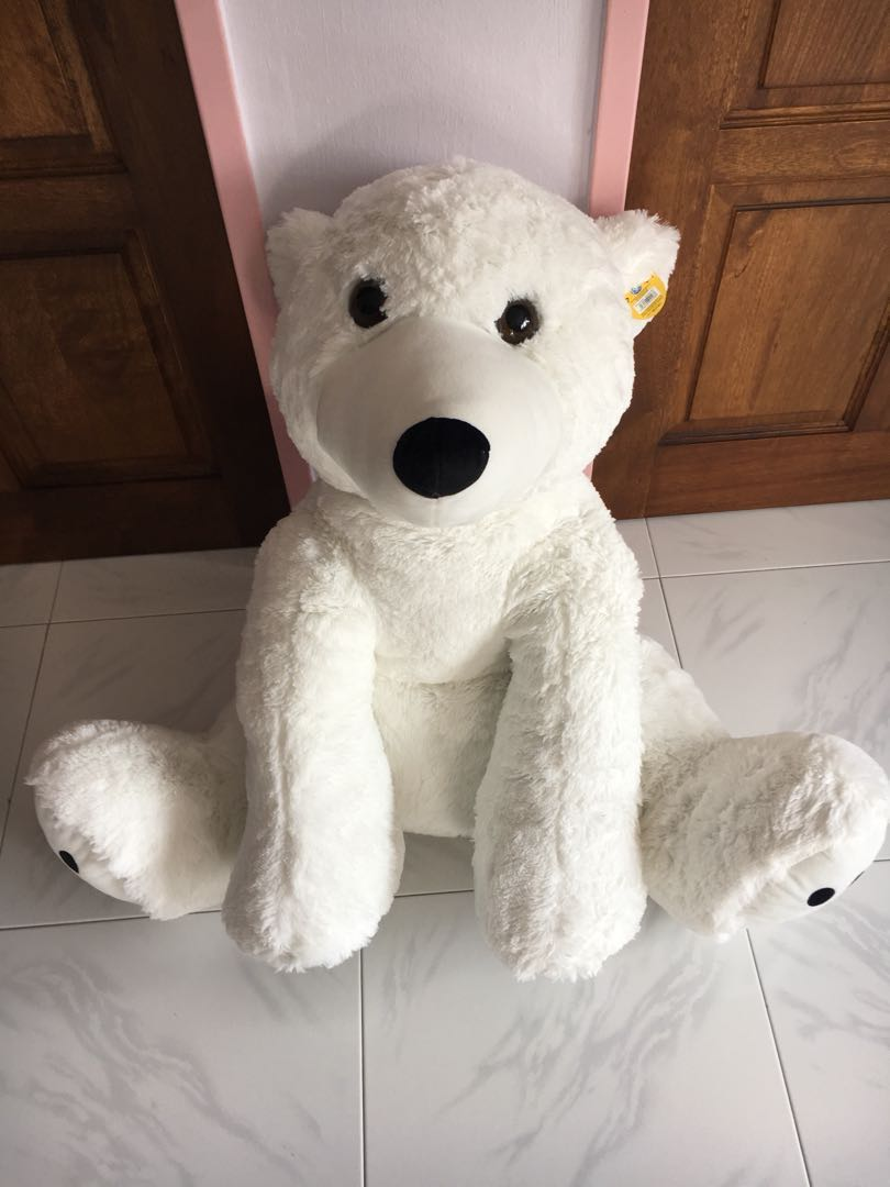 Giant Polarbear Toys Games Stuffed Toys On Carousell