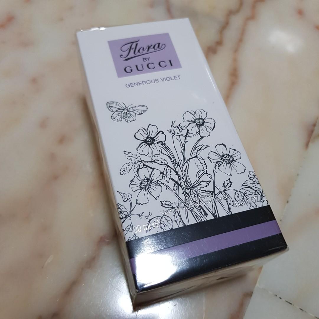 e52b73c75ed BN Gucci Flora Generous Violet 100ml EDT  makespaceforlove