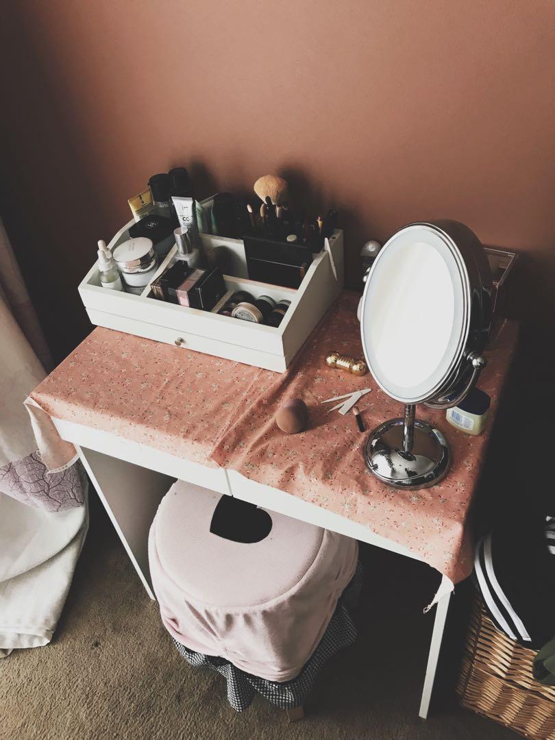 Ikea Dressing table&Stool