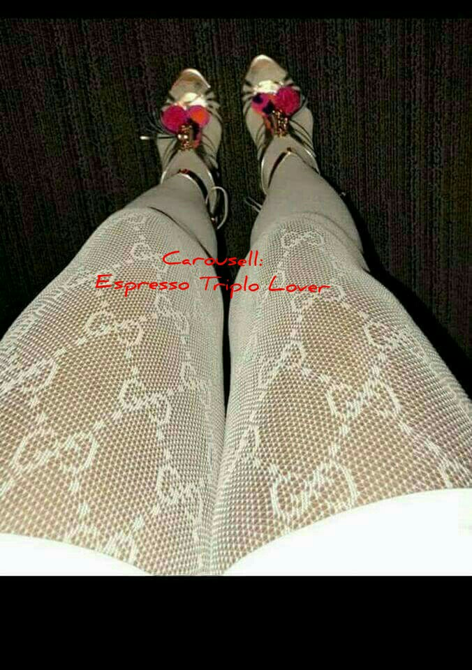 8fcade04f8f65 Interlocking G Tights by Gucci (White), Women's Fashion, Shoes on Carousell