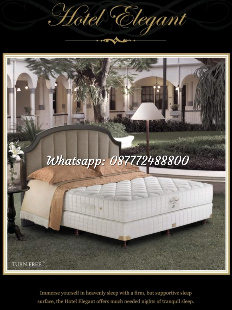 Kasur King Koil Spring Bed Elegant New Home Furniture On Carousell Divan Dipan Headboard Sandaran Dan Springbed 160x200