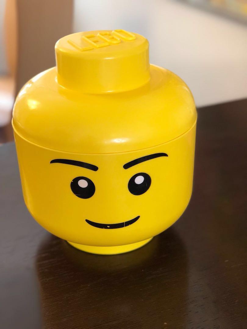 Lego Head Storage Box Carousell 5547 Duplo James Celebrates Sodor Day