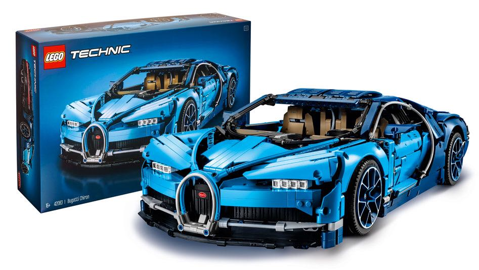 lego technic 42083 bugatti chiron toys games bricks figurines on carousell. Black Bedroom Furniture Sets. Home Design Ideas