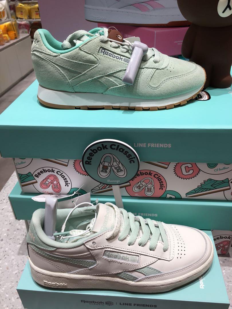 73f07ce3dd4b Line friends x Reebok - official line friends sneaker