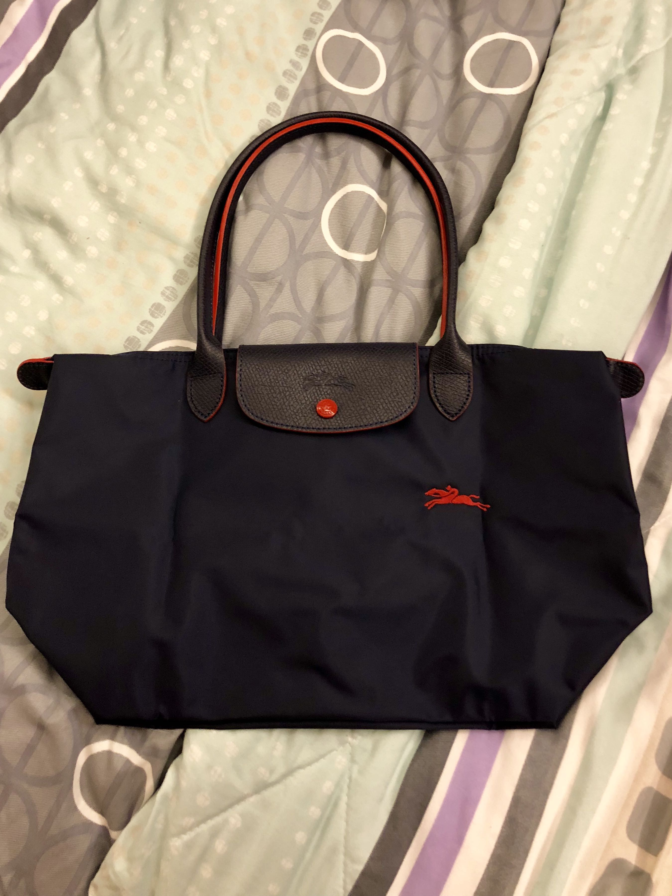 5fd91ce2e14f Longchamp Tote Bag Limited Edition Navy Blue