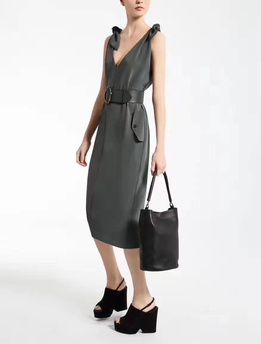 fc04028754e Max mara dress with leather belt