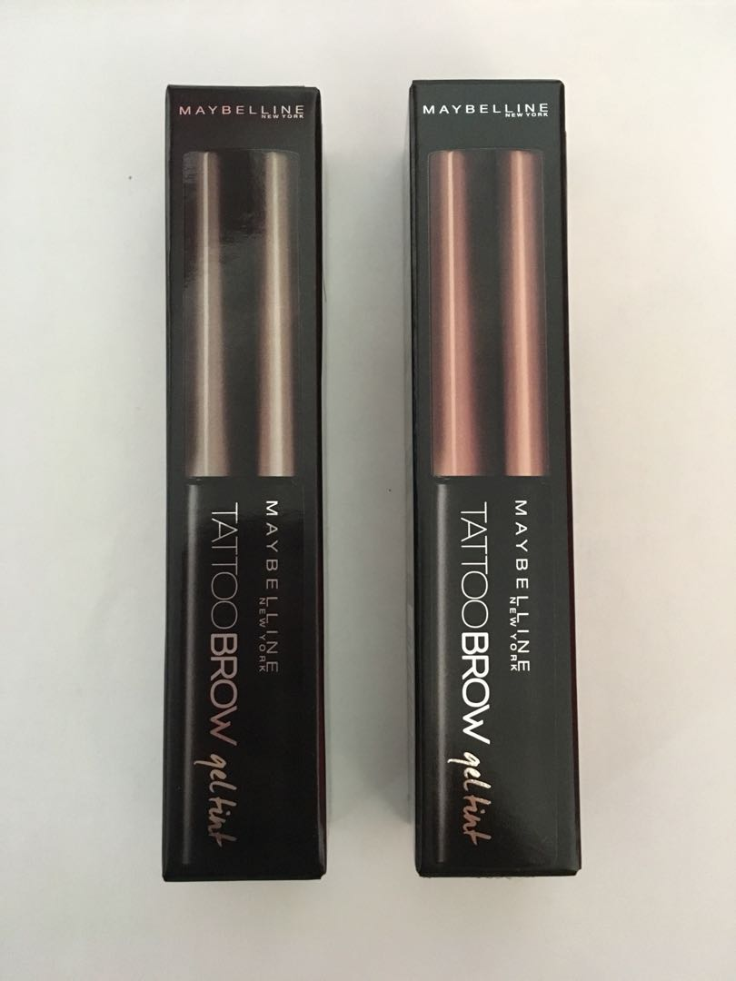 MAYBELLINE TATTOO BROW GEL TINT, Health & Beauty, Makeup on Carousell