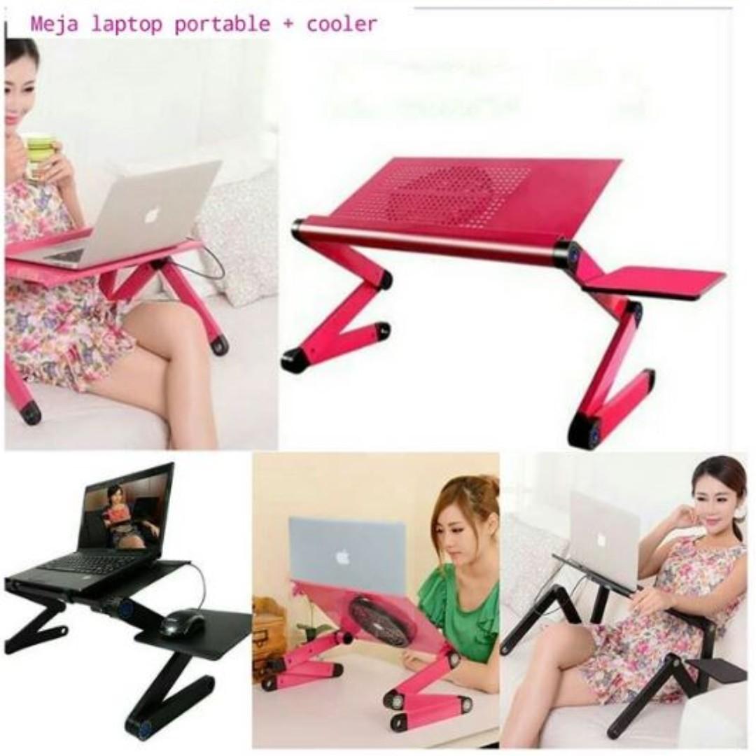 Meja Laptop Portable Perabotan Rumah Di Carousell Photo