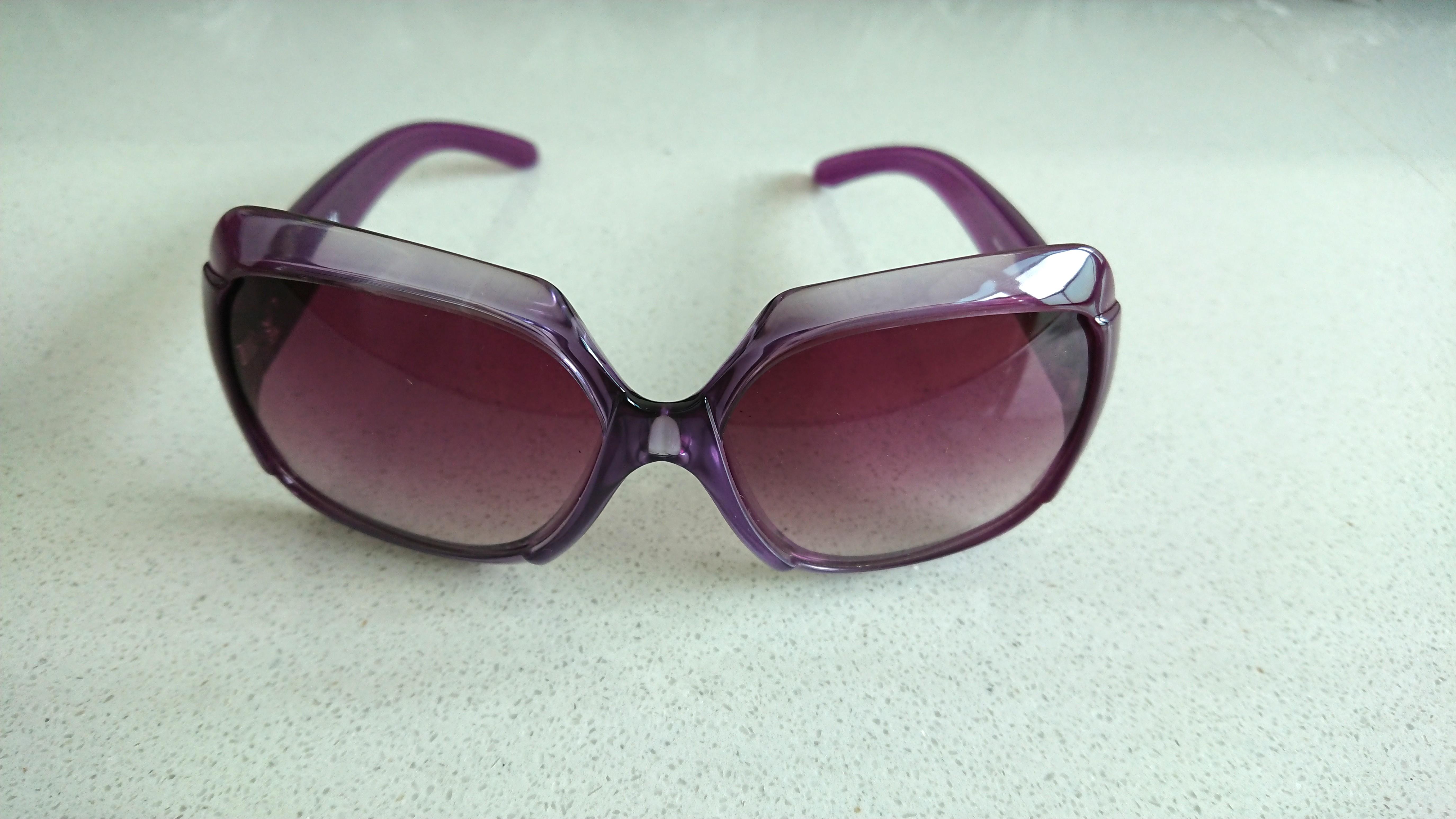 e0f01cc9bebe Miu Miu Sunglasses - Purple frame   purple gradient