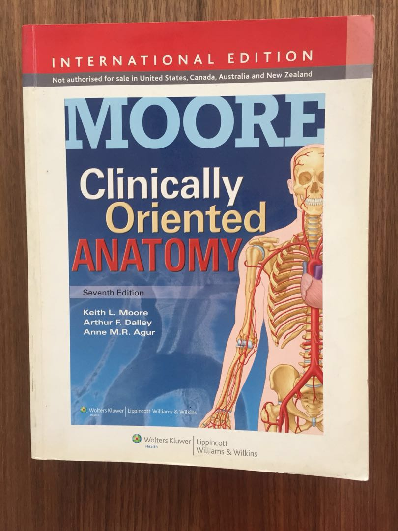 Moore Clinical Anatomy, Textbooks on Carousell