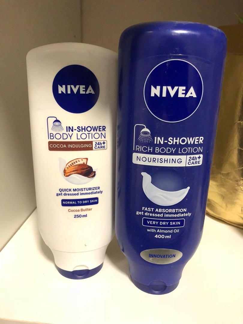 Nivea in-shower