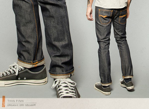 Clearance  Nudie Jeans Thin Finn Dry Selvage W31 5f89d1225529