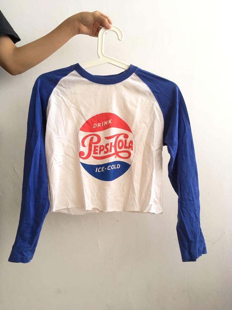 11f6778978cbb Pepsi Crop Top t-shirt
