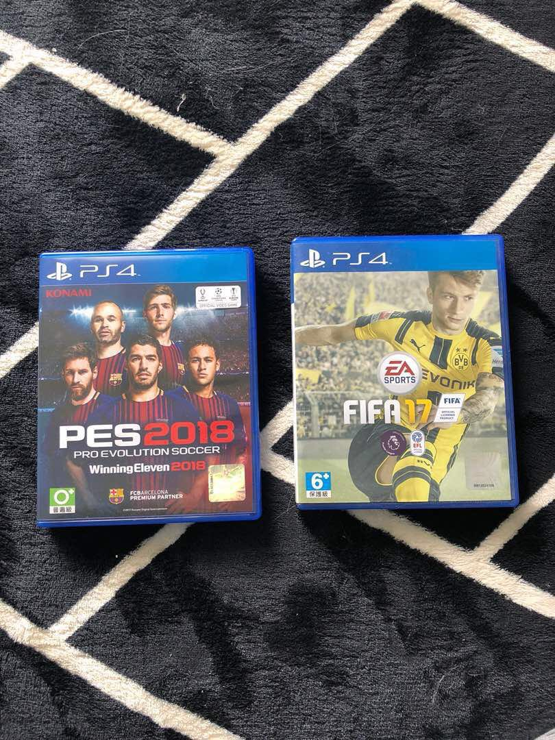 Pes 2018 Fifa 2017 Video Gaming Games On Carousell Pc Dvd Rom Pro Evolution Soccer Premium Edition Photo