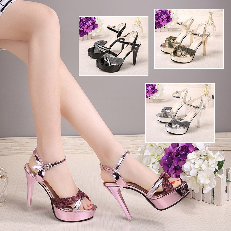 25aee50c5b45  PO  Sexy Platform High Heel Shoes
