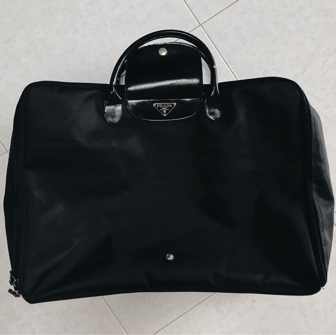 401dd7b6ac22 Prada travel bag, Luxury, Bags & Wallets, Others on Carousell