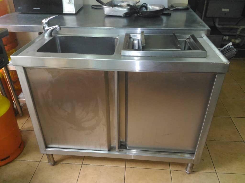 Sink Kitchen Restaurant Sinki Kedai Restoran Peralatan Dapur Di Carou