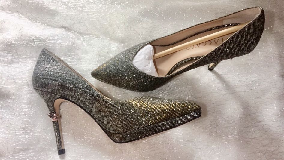 SOLD!!!! Staccato glitter heels 98696fe083