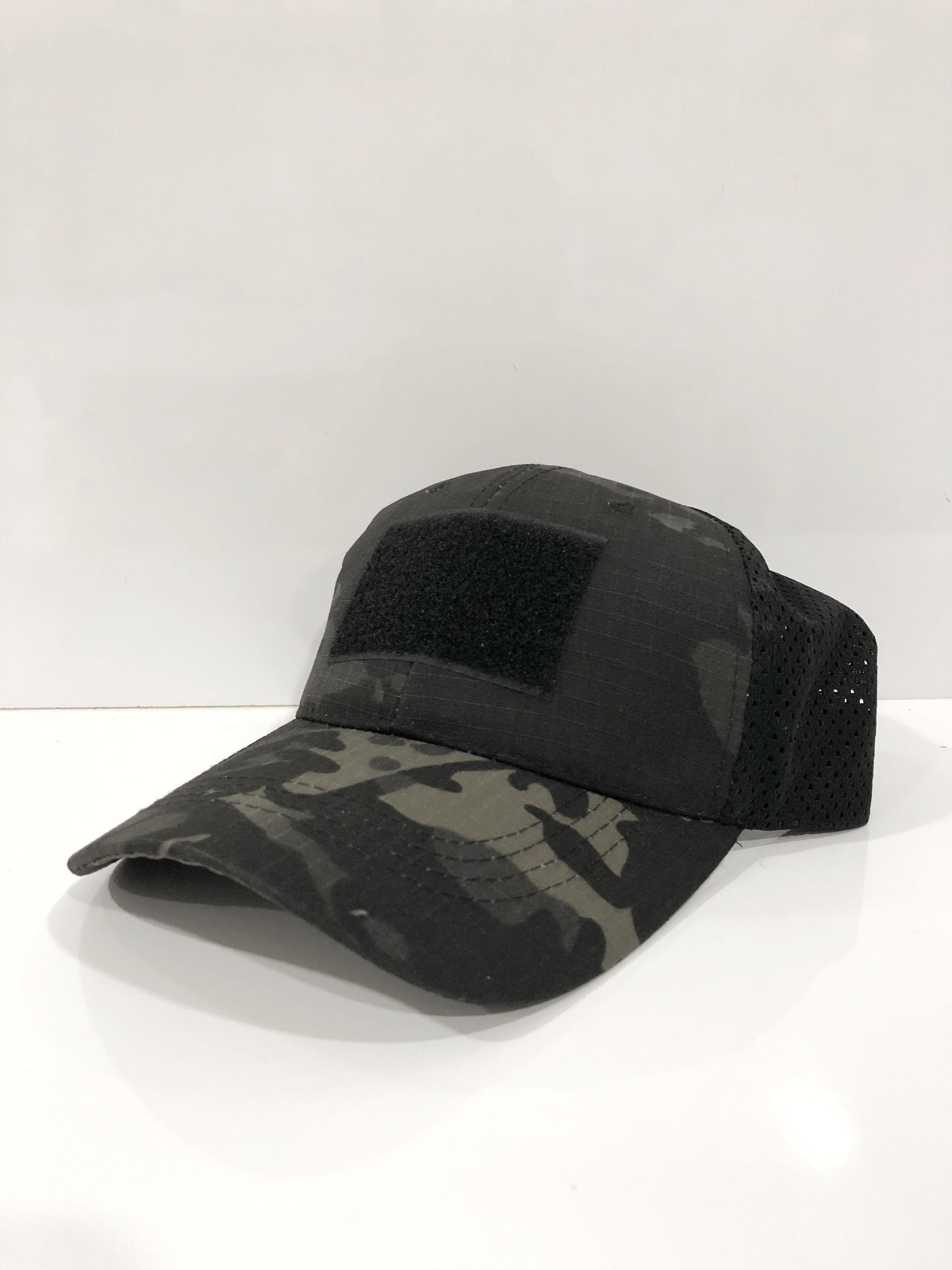 1ae779cc720fa TACTICAL CAP - MULTICAM BLACK