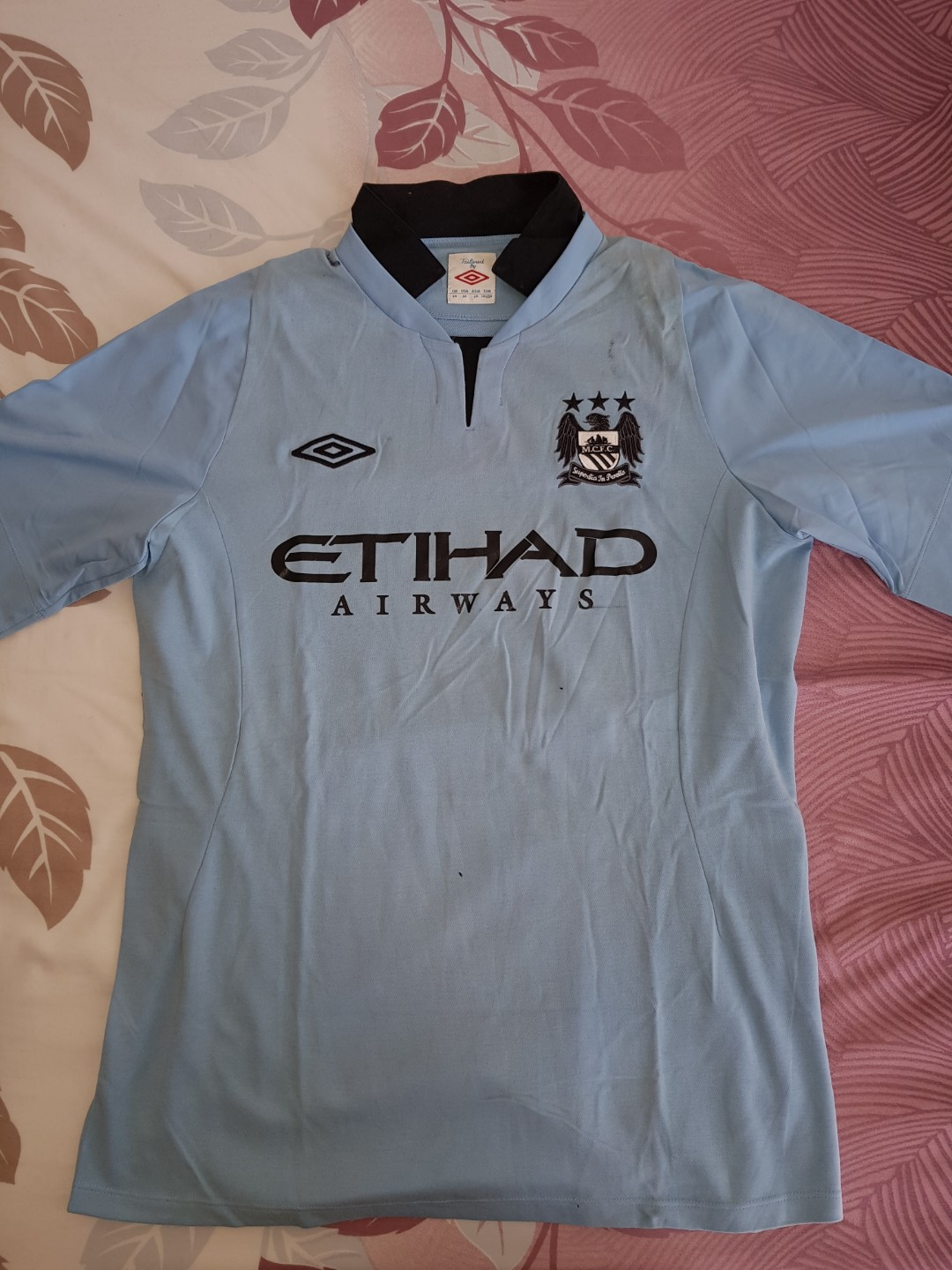 official photos 03357 a47c4 Umbro Manchester City Jersey Sepakbola Football Original ...