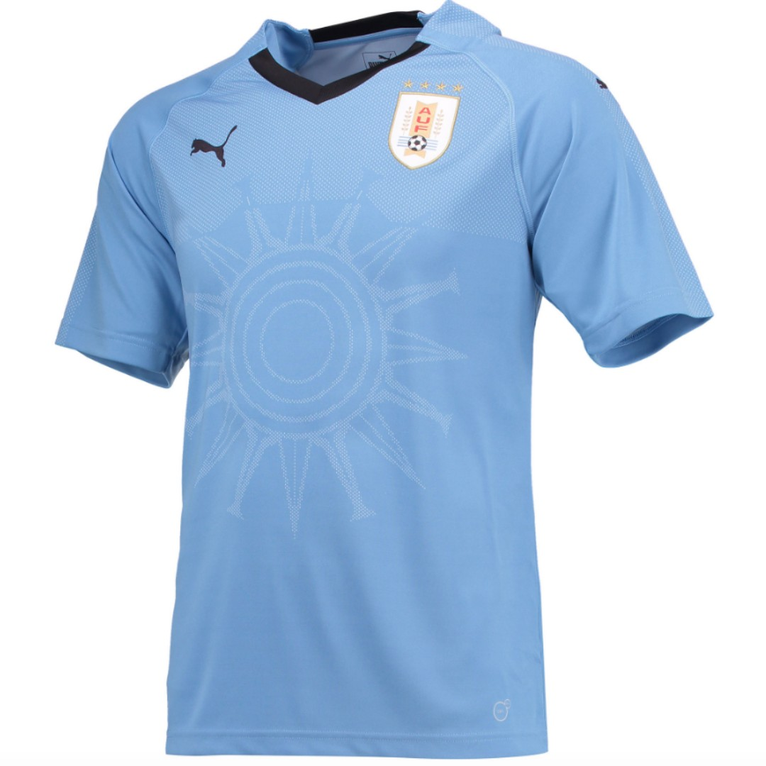 f31e0a0d1 Uruguay 2018 World Cup Puma Home Kit