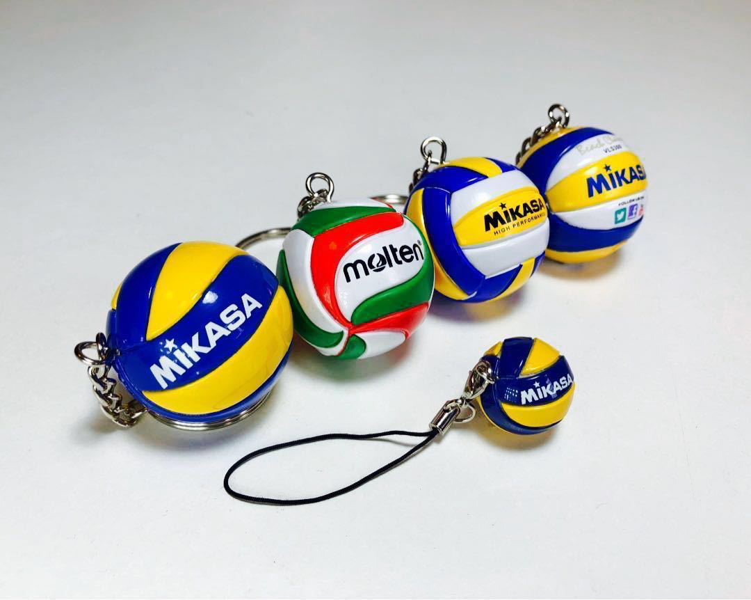 Vb2 Volleyball Keychain Women S Fashion Accessories On Carousell