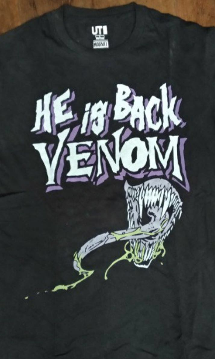 771608fd Venom Marvel UT x Uniqlo Graphic Tee, Women's Fashion, Clothes, Tops on  Carousell