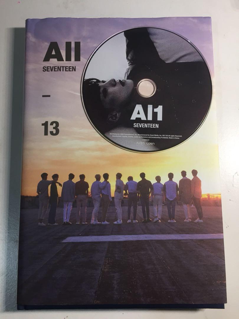 WTS Unsealed Seventeen AL1 Album (ALL Version