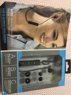 MEE Audio Wireless Headset (with Box) almost brand new