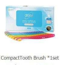 Anti-bacteria Toothbrush (8 pieces)