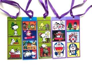 Doraemon/Snoopy Bookmarks