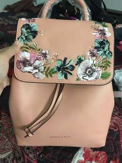 Charles And Keith bagpack authentic