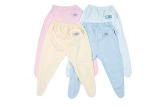 IN STOCK baby clothes new born clothes - baby footed pants - newborn footed pants